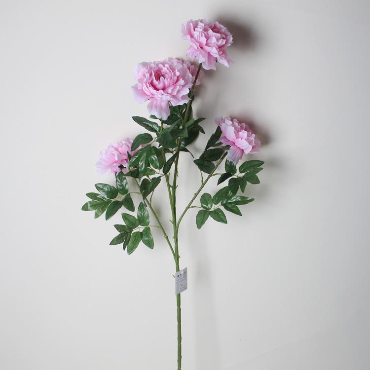 尺寸 --整束的长度:40CM、宽度:17、分5个花头、5片叶子、花头直径:13CM